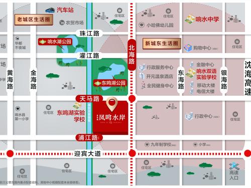 碧桂园·凤鸣水岸 效果图