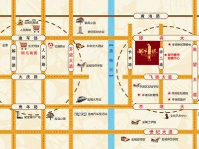 富建·都市壹号 区位图