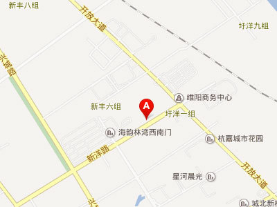申鑫名城 区位图