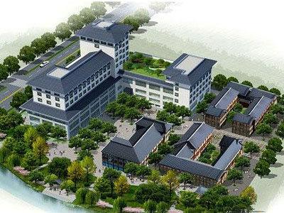 锦元商业街 鸟瞰图