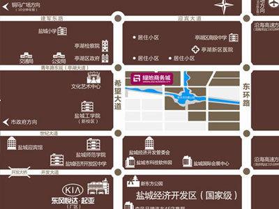 绿洲·商务城 区位图