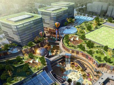 绿地·商务城 效果图