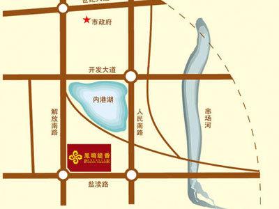 凤鸣缇香 区位图