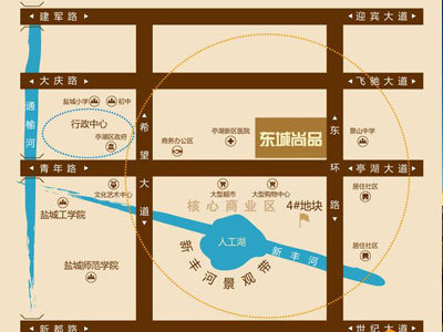东城尚品 区位图