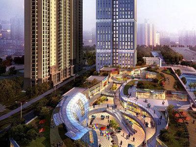 金辉城 商业图