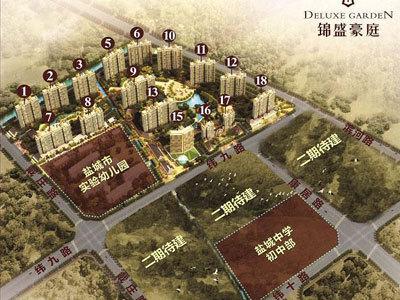 锦盛豪庭 学区图