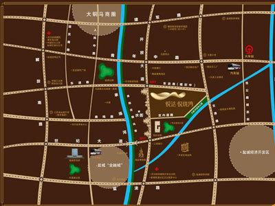 悦达悦珑湾 区位图