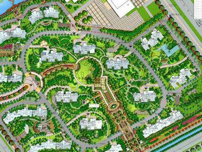 香苑西园 规划图