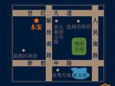 鳳凰文化廣場 區位圖