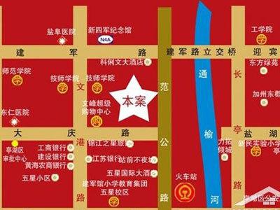 国园壹城 区位图