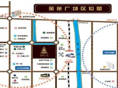 金座廣場 區位圖