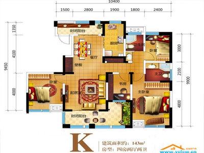 中江嘉城 户型图