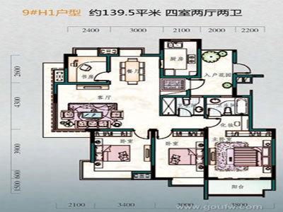 澄达东景苑 户型图