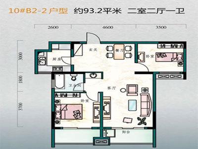澄达东景苑 户型图2