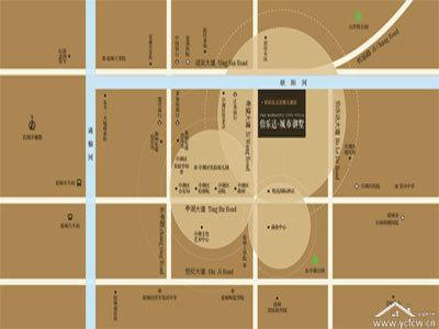伯乐达·城市御墅 区位图