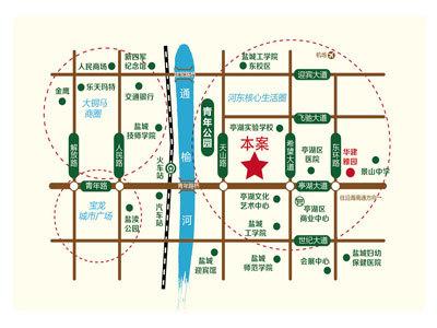 华建颐园 区位图