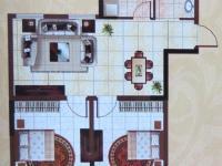 B户型-89㎡-两室两厅一卫