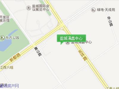 盐城涌鑫中心 区位图