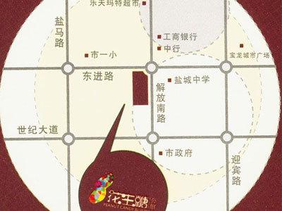 花生糖公馆 区位图