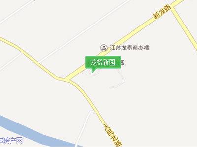 龙桥新园 区位图