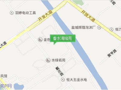 香水湾 区位图