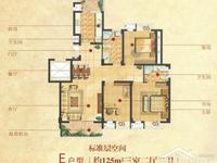 E户型-125㎡-3室2厅2卫