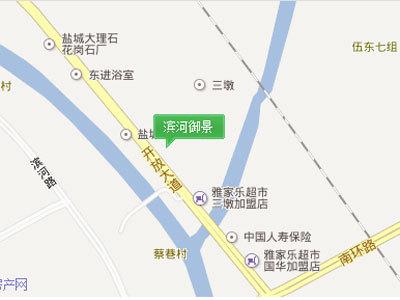 滨河御景 区位图