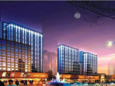 中南世紀城 夜景圖