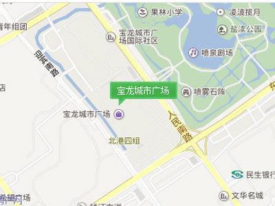 宝龙城市广场 区位图