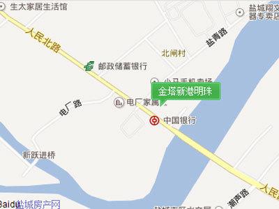 金塔新港明珠 区位图