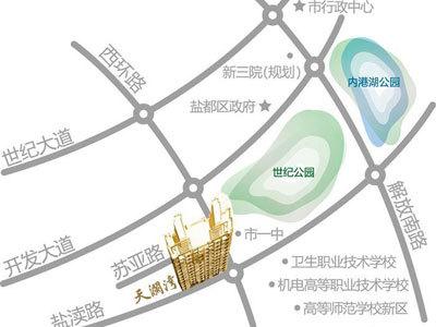依云香溪 区位图
