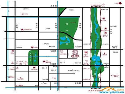 望园·来茵城 区位图