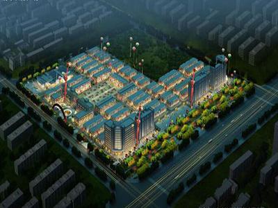 苏农国际广场 鸟瞰图