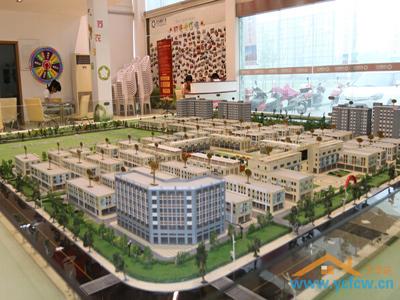 苏农国际广场 沙盘图