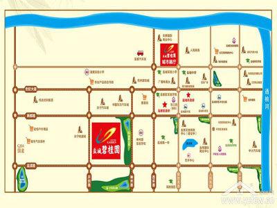 盐城碧桂园 区位图
