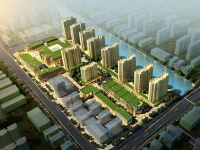 永泰国际广场 鸟瞰图