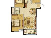 04户型-三室两厅一卫-94.2平米