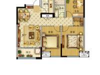 03户型-三室两厅一卫-93.98平米