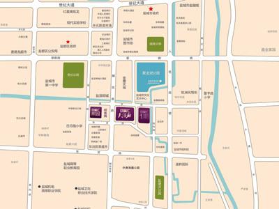 凤凰汇·天泽府 项目区位图