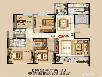 凤凰汇·天泽府 项目户型图