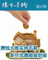 攒钱太难买房不易  新年优惠能省则省