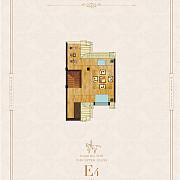 碧水豪庭 别墅E户型(E4)
