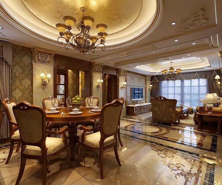悦达悦珑湾 170平米 预算80万元 装修设计图