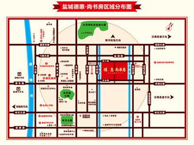 德惠尚书房 区位图