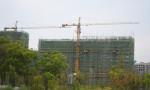 绿地·商务城6月工程进度
