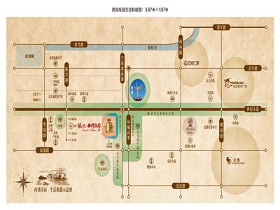 悦达西郊庄园 区位图
