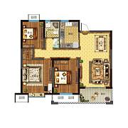 三室两厅一卫 三室两厅一卫