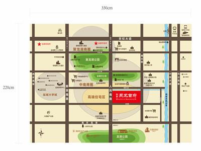 中梁·聚龙首府 区位图