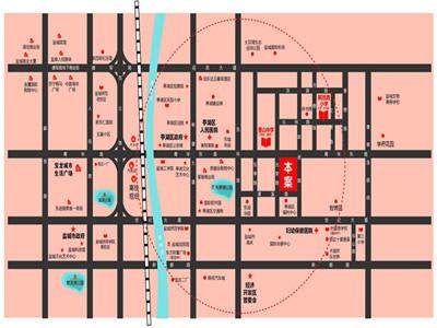 悦达·汇文苑 区位图