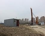 中海·万锦园 2017年3月施工进度北园